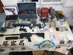 竹南警飛象過河 破獲大批槍毒工廠