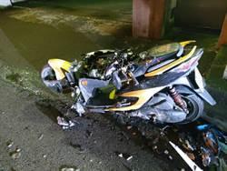 摩托車直撞左轉轎車 騎士傷重不治