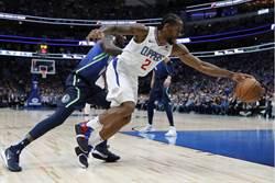 NBA》快艇撞翻獨行俠 小卡與喬治合攻54分