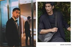 首位登上LV全球廣告的亞洲男星 高以翔好萊塢發光