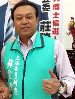 屏二選區蘇震清秀「黨支持」訊息 坐實「綠營正統」