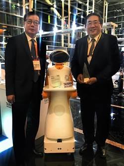 東元智慧送餐服務機器人 獲台灣精品獎銀質獎