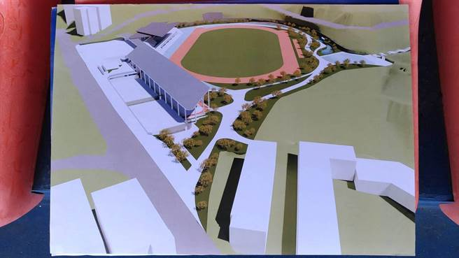 市立體育場獲體育署核定補助1億元重建,預計2021年完工。(蔡適應提供/許家寧基隆傳真)