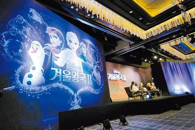 冰雪奇緣2預料將又是一部大賣座電影。圖/美聯社