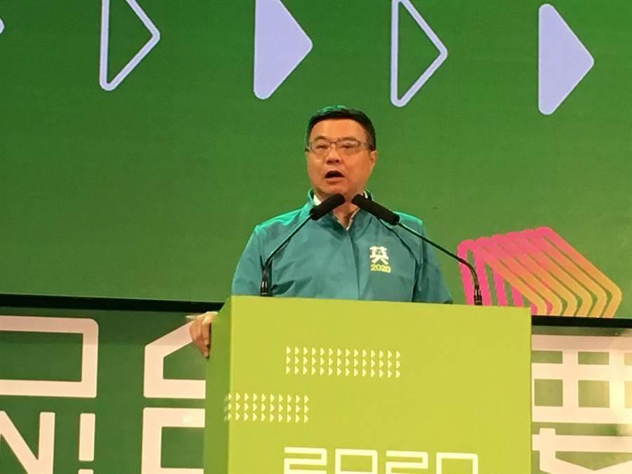 民進黨中常會通過輔選以無黨籍參選的蘇震清。照片:本報資料照