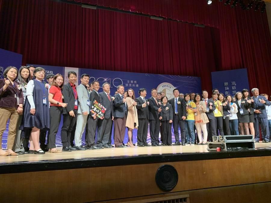 2019金質旅遊獎頒獎典禮。(潘千詩攝影)