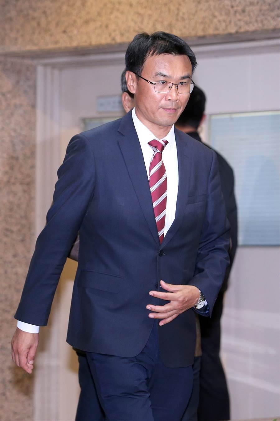 農委會主委陳吉仲今出席十大績優農業產銷班頒獎典禮。(黃世麒攝)