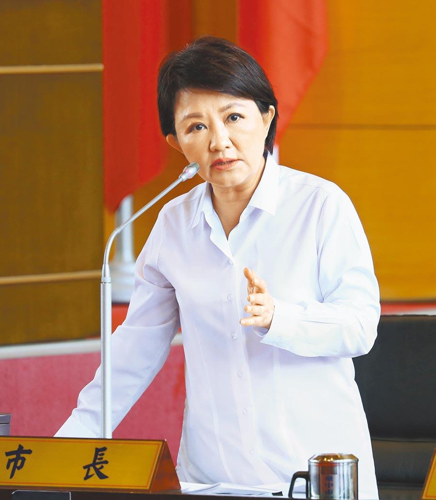 台中市長盧秀燕。(本報資料照片)