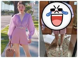 網購衣服穿上變「健美小姐」 網一看全笑歪