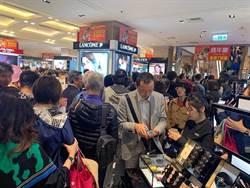 新光三越周年慶壓軸站前店首日衝4.6億