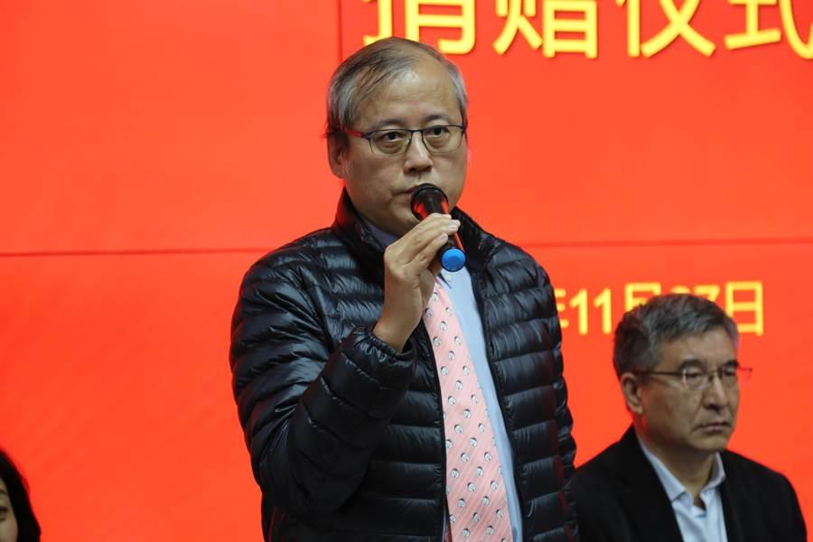 旺旺集團北京代表處首席代表兼全國台企聯常務副會長林天良。(照片由主辦單位提供)