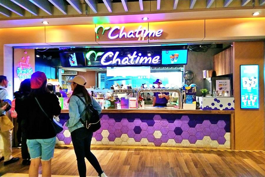 連鎖餐飲集團六角旗下主力茶飲品牌「Chatime日出茶太」。(資料照,林資傑攝)
