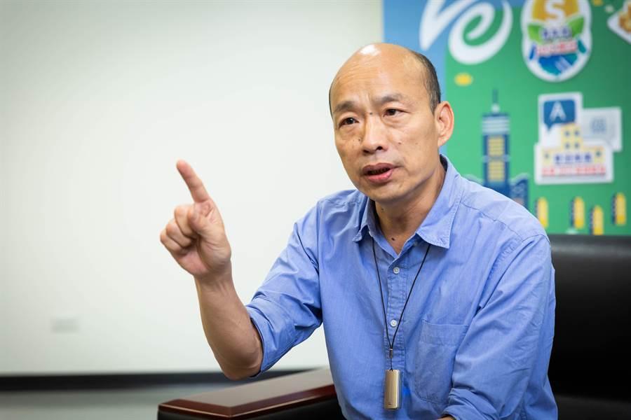 國民黨總統參選人韓國瑜。(中時報系資料照片)