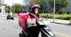 外送平台打造安心工作環境 贈夥伴專用抗霾頭巾