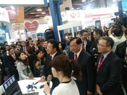 Fintech Taipei第二年規模翻倍 顧立雄:台灣有3優勢