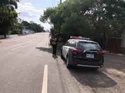 台南》玉井山區周末車禍多 警方加強機動測速照相取締