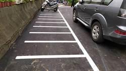 中和打造安全無障礙無尾巷 增設人行道、停車格