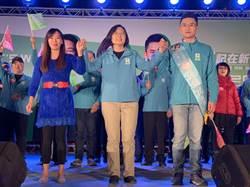 蔡英文為張銘祐站台 呼籲民眾給年輕的新人機會
