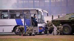 塞爾維亞反恐演習 大陸特警也來了