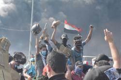 反政府示威成功逼伊拉克總理下台