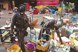 港警進理大蒐證 查3801枚汽油彈