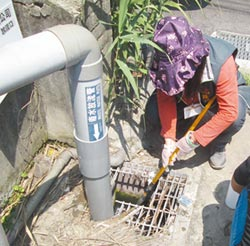 科技執法水戰警逮電鍍業偷排廢水