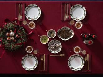 頂級餐瓷迎耶誕  家居佈置有巧思