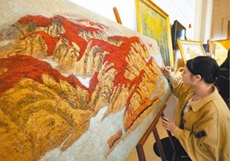 江西糧漆畫 五穀煥發藝術光芒