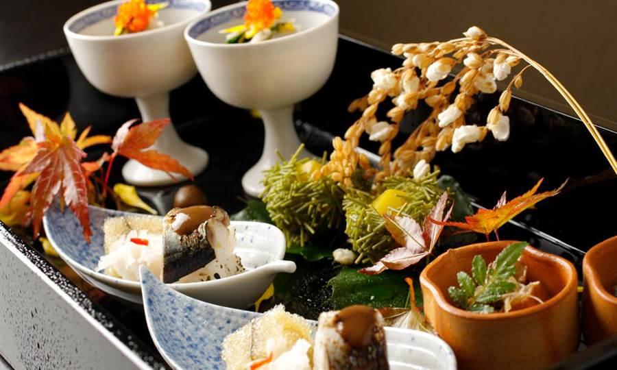 東京米其林懷石料理 _銀座一二岐_講求藝術質感與食材美味的懷石料理。(圖取自KKday官網)