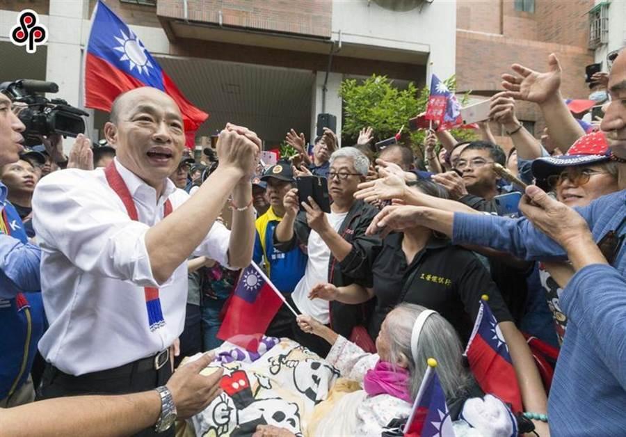 國民黨總統參選人韓國瑜。(本報資料照)