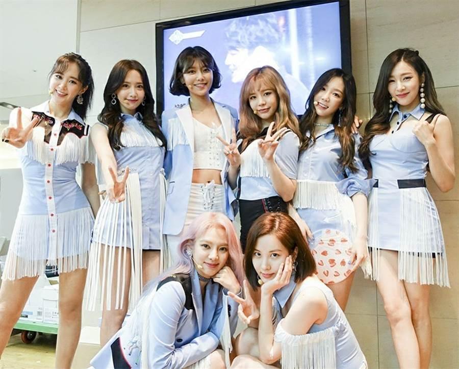 少女時代2007年出道。(圖/翻攝自소녀시대(Girls' Generation)臉書)