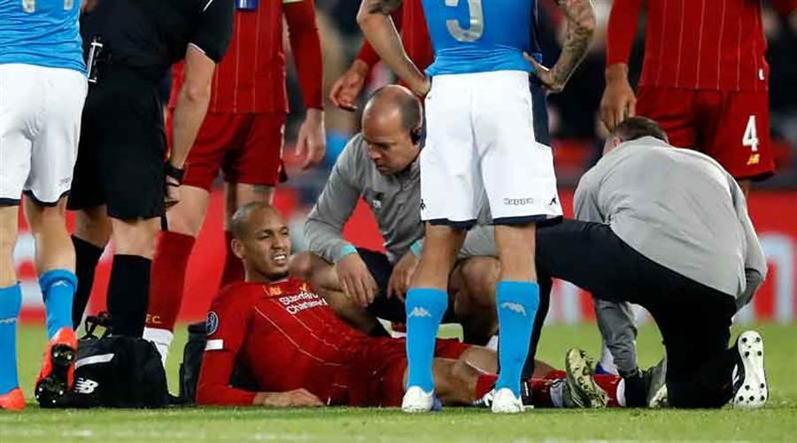 法比荷周中歐冠於受傷,本場聯賽不會上陣。