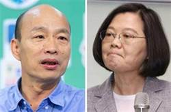 台南街頭民調 蔡票數網驚:受韓「支持蔡」說法影響