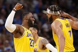 NBA》湖人單月14勝 前6次全進決賽