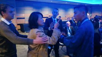 大鬧英保守黨年會 央視女記者被判襲擊罪