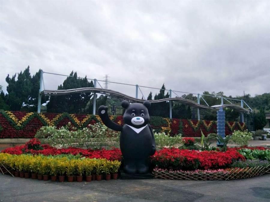 公館聖誕季11月30日點燈!熊讚可愛登場。(圖取自台北旅遊網)