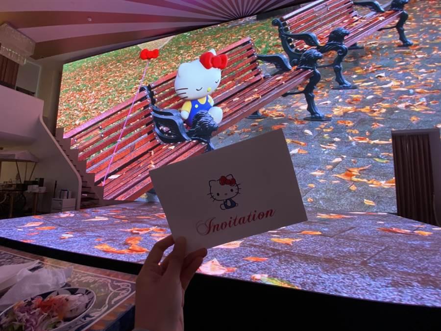 劇院式舞臺結合極盡逼真的3D投影螢幕  圖/蔡惠綸、陳威成 攝影