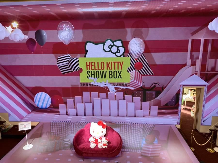 軟萌又好拍的展覽專區滿滿的粉紅泡泡和少女氣息  圖/蔡惠綸、陳威成 攝影