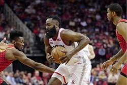 NBA》場均38.9分 哈登新一代戰神