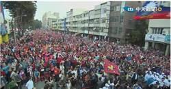 韓國瑜黃昭順左營造勢空拍 「人潮爆滿整條街」網嚇傻