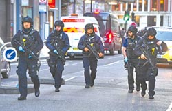 倫敦恐攻 6勇士奪刃擒凶手