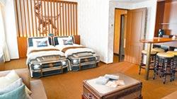 利蓓薾酒店 睡進侏羅紀世界