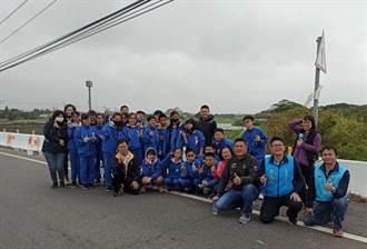 新豐鄉橋面彩繪 國中生、社區共同參與