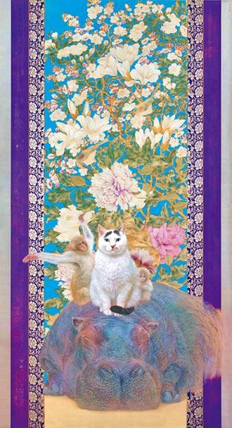 理性與感性 畫貓找共鳴