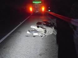 男子半夜騎機車逆向上國道 遭2車輾斃