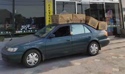 衛生紙太便宜 轎車硬載8大箱引熱論