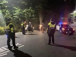 警方強力約制 淡水深夜未再出現「龍炮」滋事