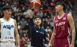 林昀儒UBA開球體驗 年終賽拚混雙奧運資格