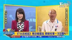 接受《T台政經話》專訪 韓國瑜面對所有挑戰
