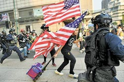 港人發起遊行 感謝川普挺人權法案